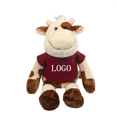 Extra Soft Cow Stuffed Animal
