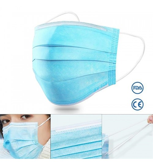 Disposable Personal Protective Face Mask-FDA&CE Certified